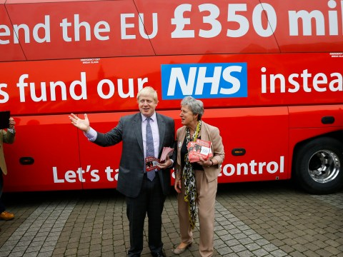 Brexit camp officially abandons its £350million NHS pledge