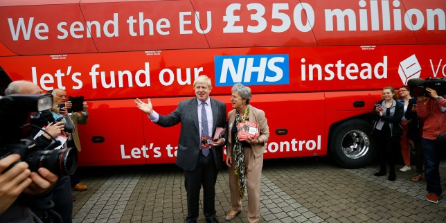 Former London Mayor Boris Johnson speaks at the launch of the Vote Leave bus campaign, in favour of Britain leaving the European Union, in Truro, Britain May 11, 2016. REUTERS/Darren Staples
