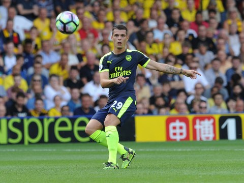Granit Xhaka says Arsenal boss Arsene Wenger has 'insane charisma'