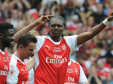 Arsenal legend Kanu predicted he'd score a hat-trick against AC Milan legends