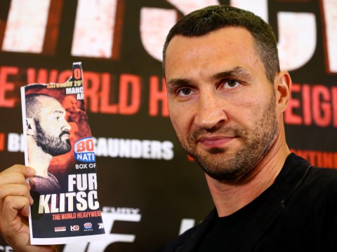 Tyson Fury failed to turn up at press conference with Wladimir Klitschko ahead of rematch in October
