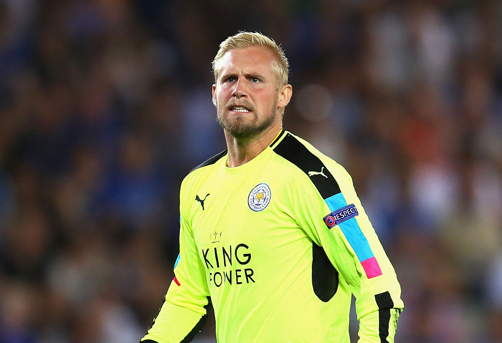 Kasper Schmeichel ruled out of Leicester City's trip to Manchester United