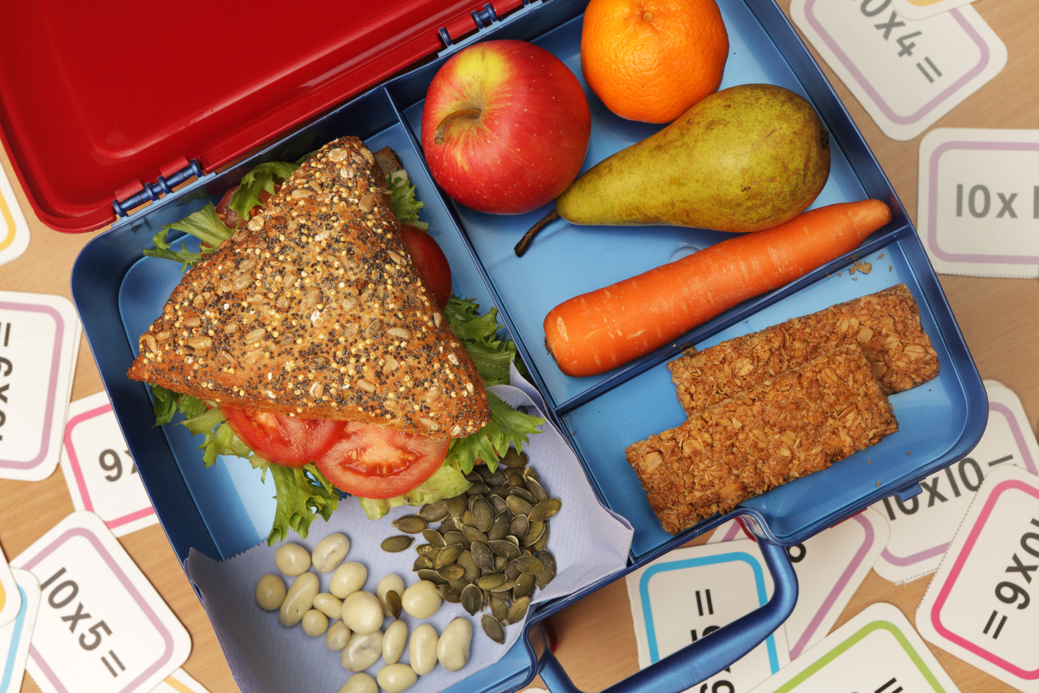 Keep the kids interested with a fun and healthy lunchbox (Picture: Getty)