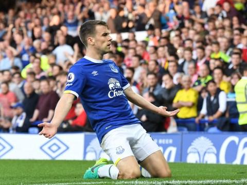 Everton's Seamus Coleman is just like Luis Suarez and Alexis Sanchez, claims Phil Neville