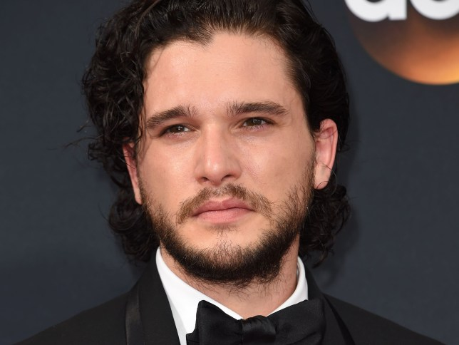 Emmy TV bosses made a typo when spelling Kit Harington's name (Picture: Robyn Beck/AFP/Getty Images)