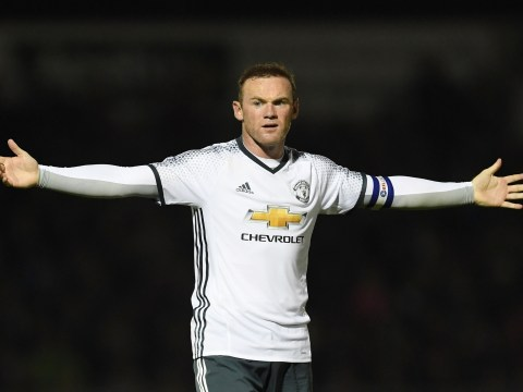 League One defender says it was easy to cope with Manchester United captain Wayne Rooney