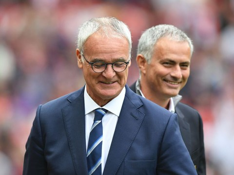 Leicester City boss Claudio Ranieri admits he gave up at half time against Manchester United