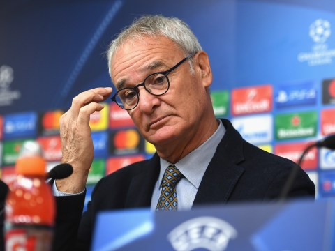 Leicester City boss Claudio Ranieri reacts to England manager speculation