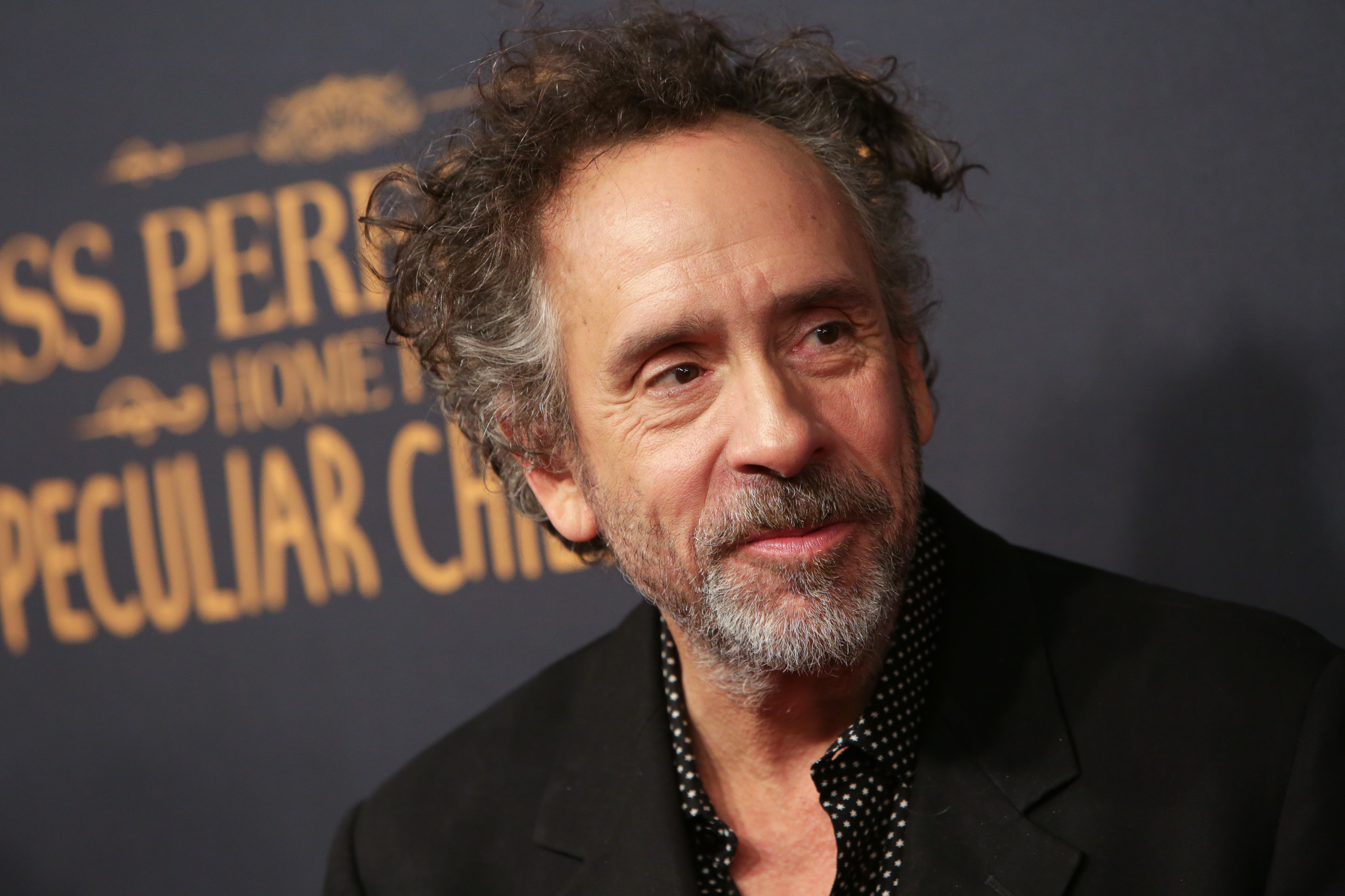 Tim Burton hits back at lack of diversity claims in his Miss Peregrine adaptation