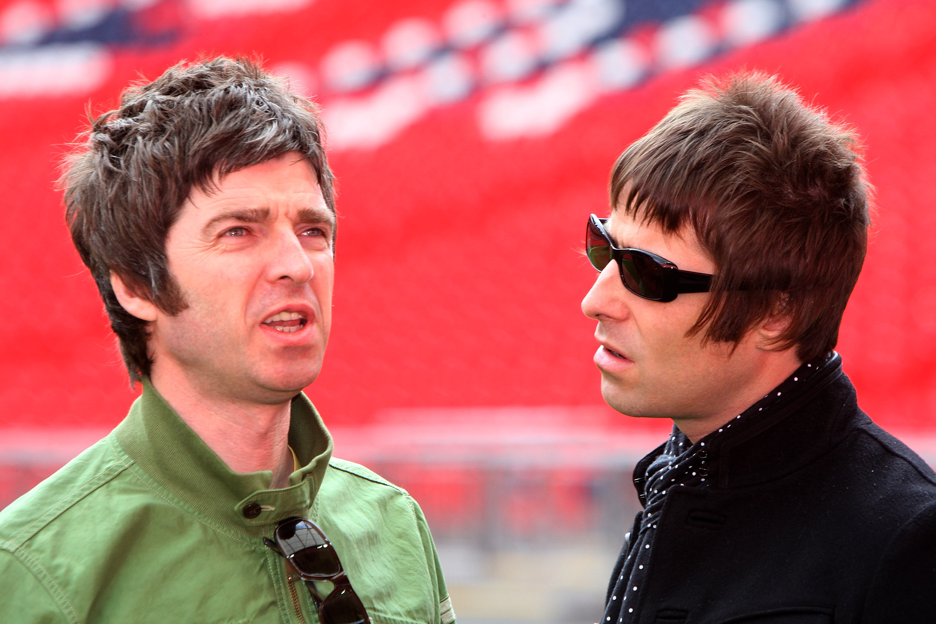 Liam Gallagher says that Noel is the main stumbling block in an Oasis reunion