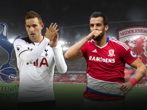 Middlesbrough v Tottenham: Metro.co.uk's big match preview