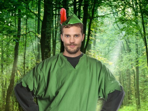 Jamie Dornan is putting on his tights for upcoming Robin Hood adaptation
