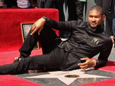 Usher just had the most star-studded Hollywood Walk Of Fame ceremony ever