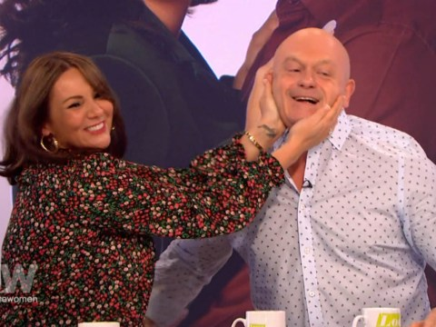 Ross Kemp and Martine McCutcheon were reunited on Loose Women and it was everything