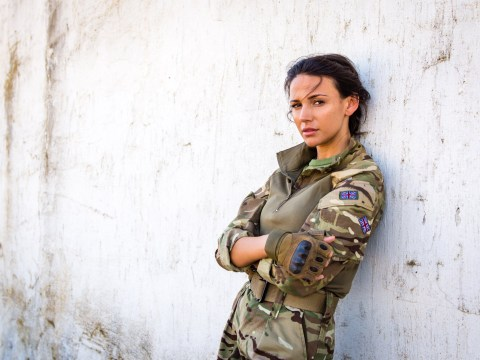 Michelle Keegan unsure about another series of Our Girl as she fears being away from Mark Wright