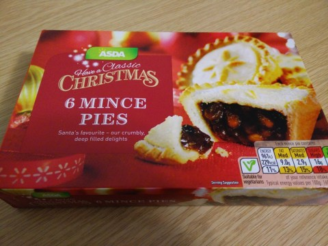 Supermarkets are already selling Christmas mince pies
