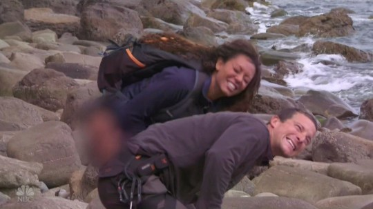 Bear Grylls makes fresh comments about Spice Girl Mel B peeing on his hand (Picture: ITV/This Morning)