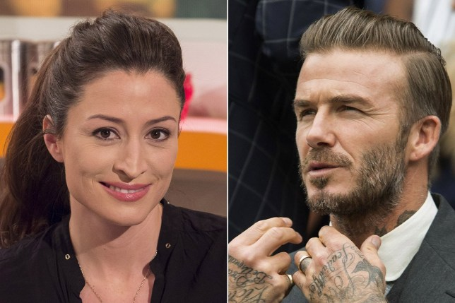 """Rebecca Loos insists she has """"no regrets"""" after alleged David Beckham affair pic: Rebecca Loos and David Beckham credit: Rex Features"""