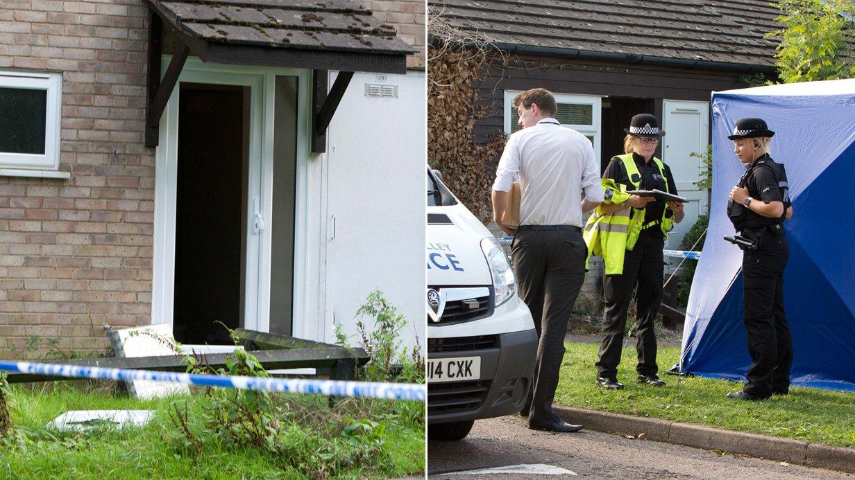 Man dies after he is shot on his doorstep in Milton Keynes