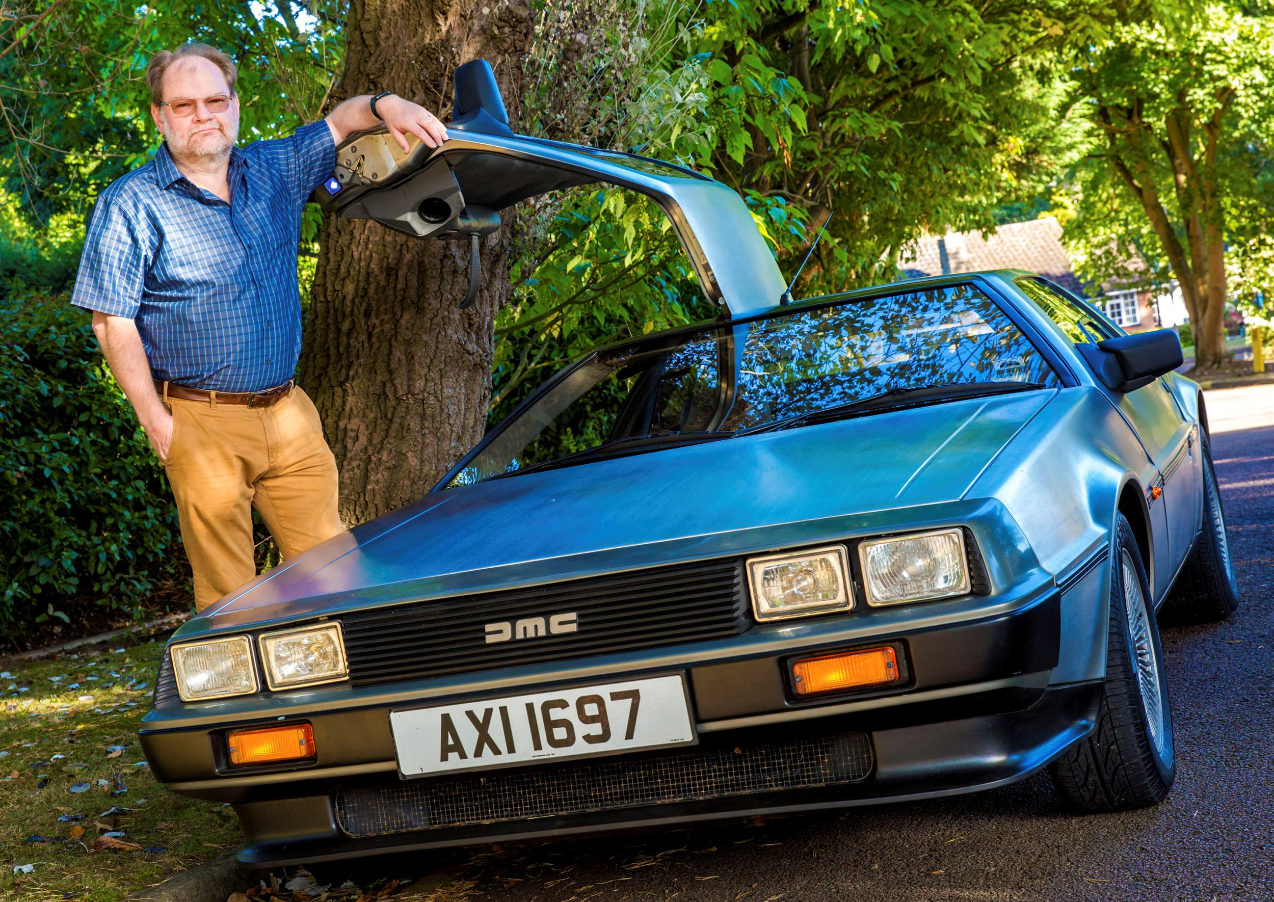Man accused of driving at 88mph in a DeLorean
