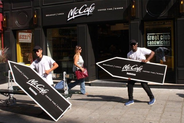 McDonald's Opened an Entire Restaurant That Doesn't Serve Burgers Pic: The new McCafe rue Rambuteau in Paris , which opened on 25 August https://www.facebook.com/AArrowParis/photos credit: AArrow Ads Paris/Facebook
