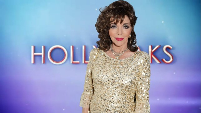 Joan Collins was offered a role in Hollyoaks - but she turned it down Joan Collins/Hollyoaks logo comp Credit: Getty Images; Channel 4