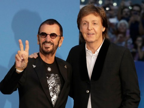 Paul McCartney and Ringo Starr reunite at premiere of The Beatles: Eight Days A Week documentary
