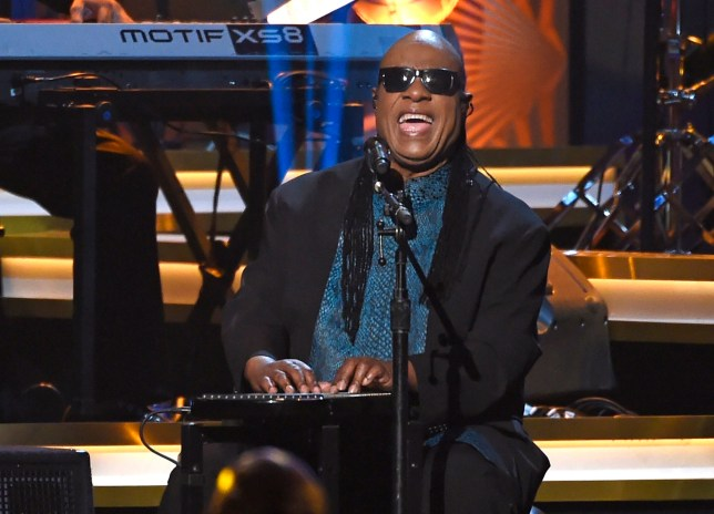FILE - In this Feb. 13, 2016 file photo, Stevie Wonder performs at the Los Angeles Convention Center in Los Angeles, Ca. Wonder and members of Prince's inner circle will highlight a family-sanctioned Prince tribute concert in St. Paul on Oct. 13, 2016. The lineup also includes Christina Aguilera, Chaka Khan, John Mayer, Tori Kelly, Anita Baker, Doug E. Fresh, Luke James, Bilal and Mint Condition. (Photo by Chris Pizzello/Invision/AP, File)