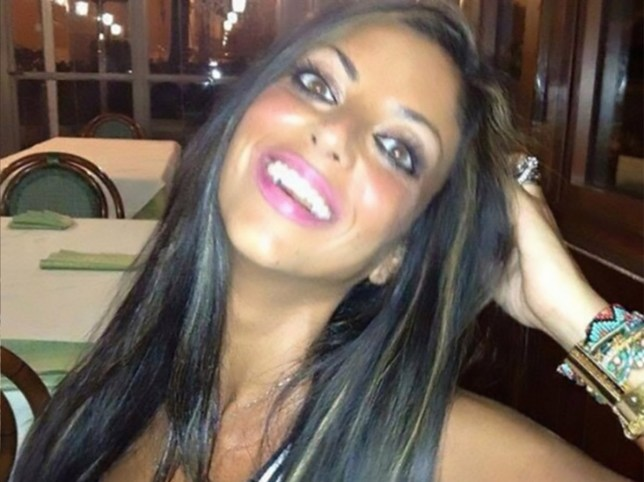"""Italian woman kills herself after revenge porn video turns into meme"" pic: Tiziana Cantone Credit: Facebook"