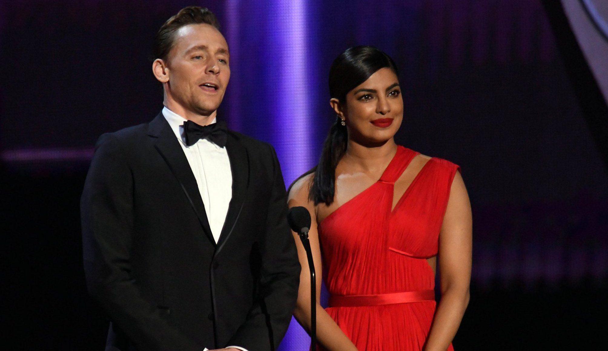 Tom Hiddleston has been caught 'openly flirting' with Priyanka Chopra