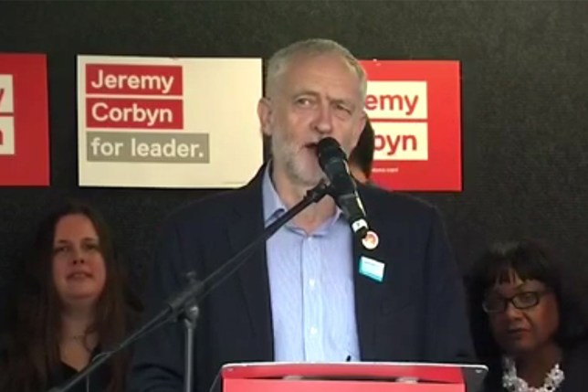 Jeremy Corbyn wants to nationalise Great British Bake Off pic: Labour leader Jeremy Corbyn speaking in Birmingham 17/9/2016 credit: Sky News
