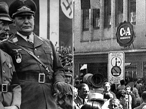 Remember C&A? Apparently they gave lots of money to the Nazis