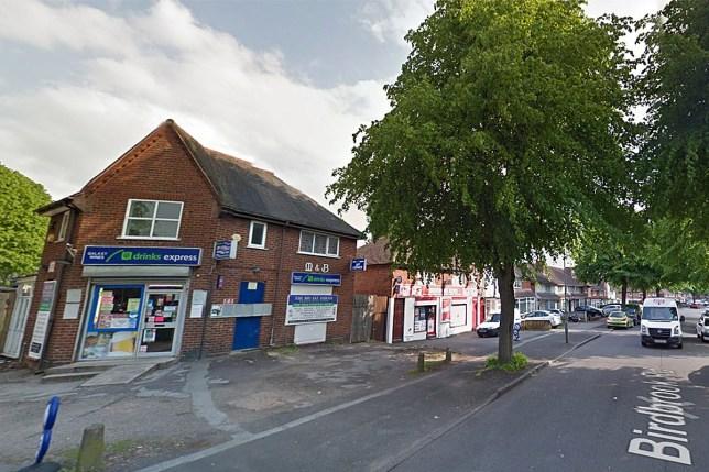 Boy, 11, traumatised after having bleach poured into his eyes near his school Birdbrook Lane, Great Barr credit: Google