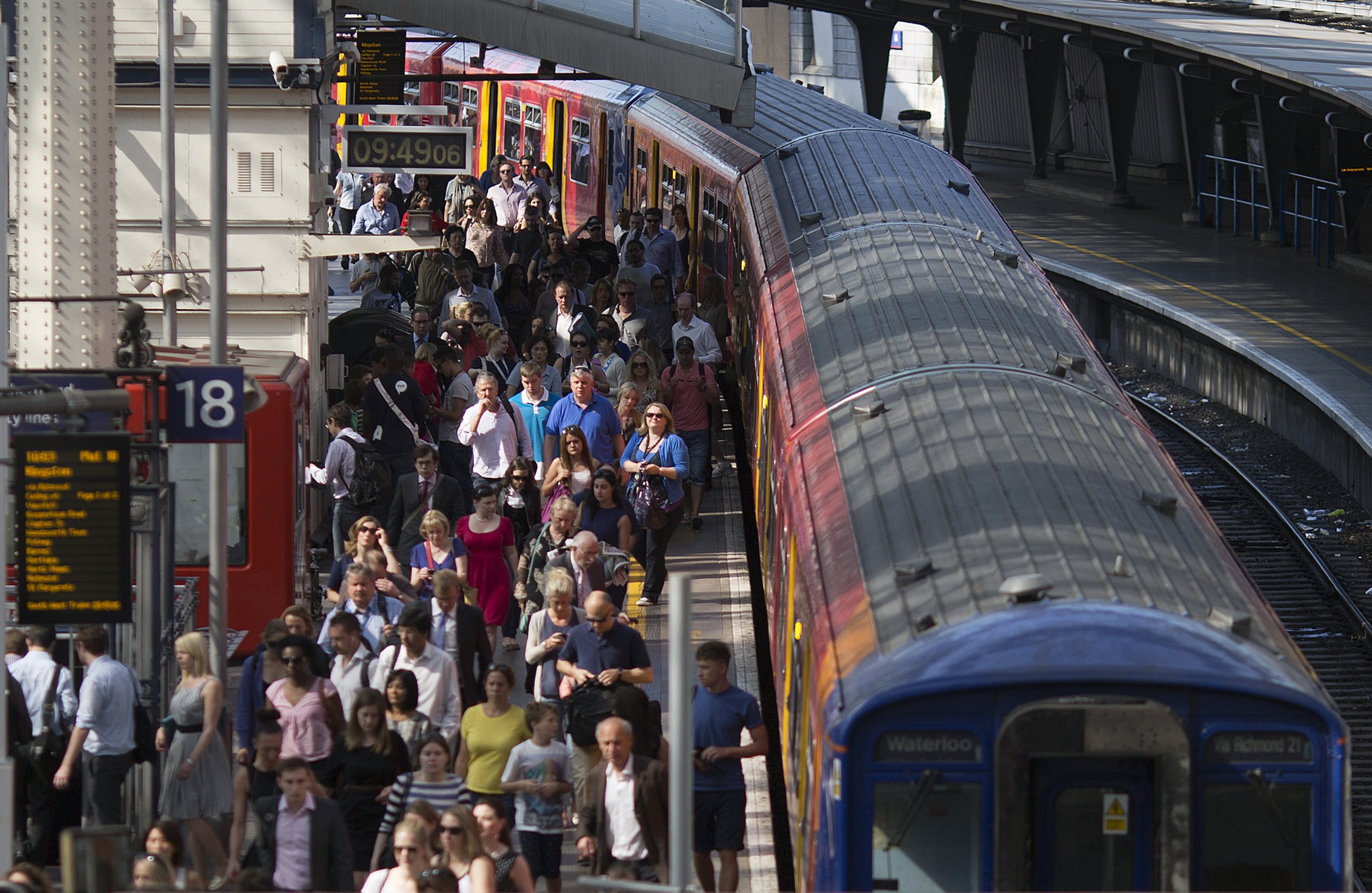 South West Trains are about to open a fresh level of hell at Waterloo Station