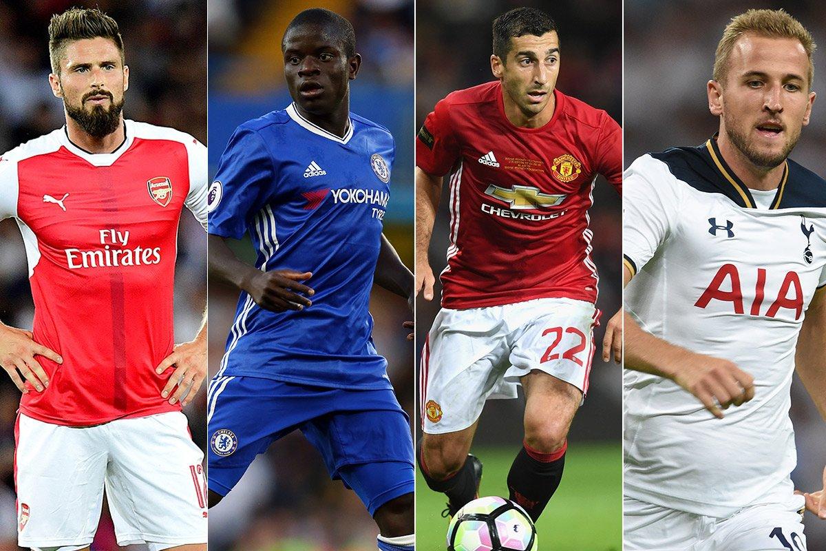 Olivier Giroud, Henrikh Mkhitaryan and the Premier League XI whose seasons haven't got going