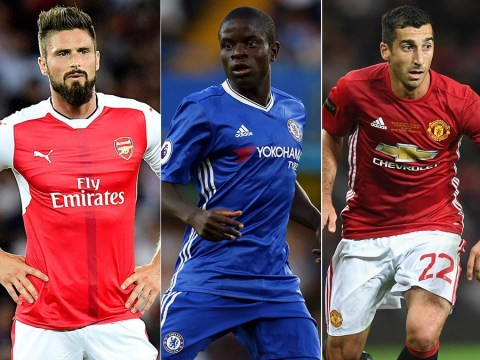 Olivier Giroud, Henrikh Mkhitaryan and the Premier League XI whose seasons haven't got going