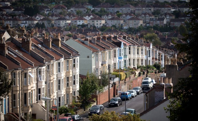 BRISTOL, ENGLAND - OCTOBER 08:  A view of housing on October 8, 2014 in Bristol, England. On the first anniversary of the introduction of second phase of the Help to Buy scheme, which provides a government partial guarantee on high loan-to-value mortgages, a new survey from the The Centre for Economics and Business Research (CEBR) claims that house prices in 2015 are set for their first decline since 2011.  (Photo by Matt Cardy/Getty Images)