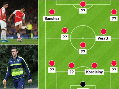 Paris Saint-Germain and Arsenal combined XI: Alexis Sanchez, Mesut Ozil in but no place for Olivier Giroud