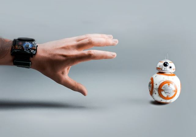 Use the Force: You can now get a wristband that controls your BB8 with hand gestures