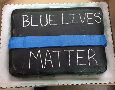 Bakers 'refuse to make Blue Lives Matter cake because it's racist'