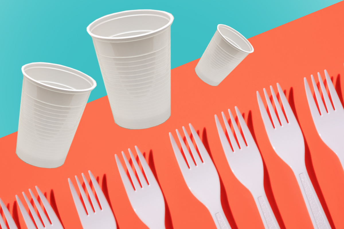 France just banned all plastic cups, plates and cutlery