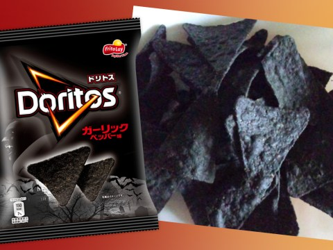 Doritos release garlic-flavoured black chips just in time for Halloween