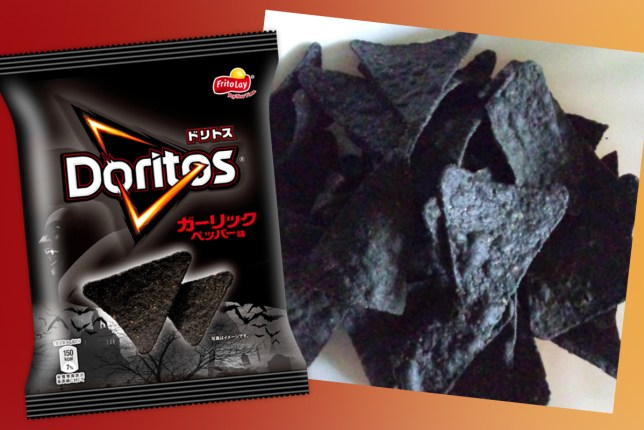 Doritos release garlic-flavoured black chips in time for Halloween
