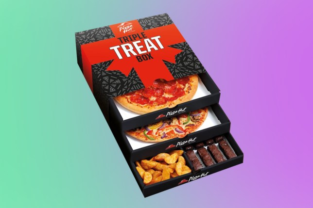Pizza Hut launches Triple Treat Box in the UK