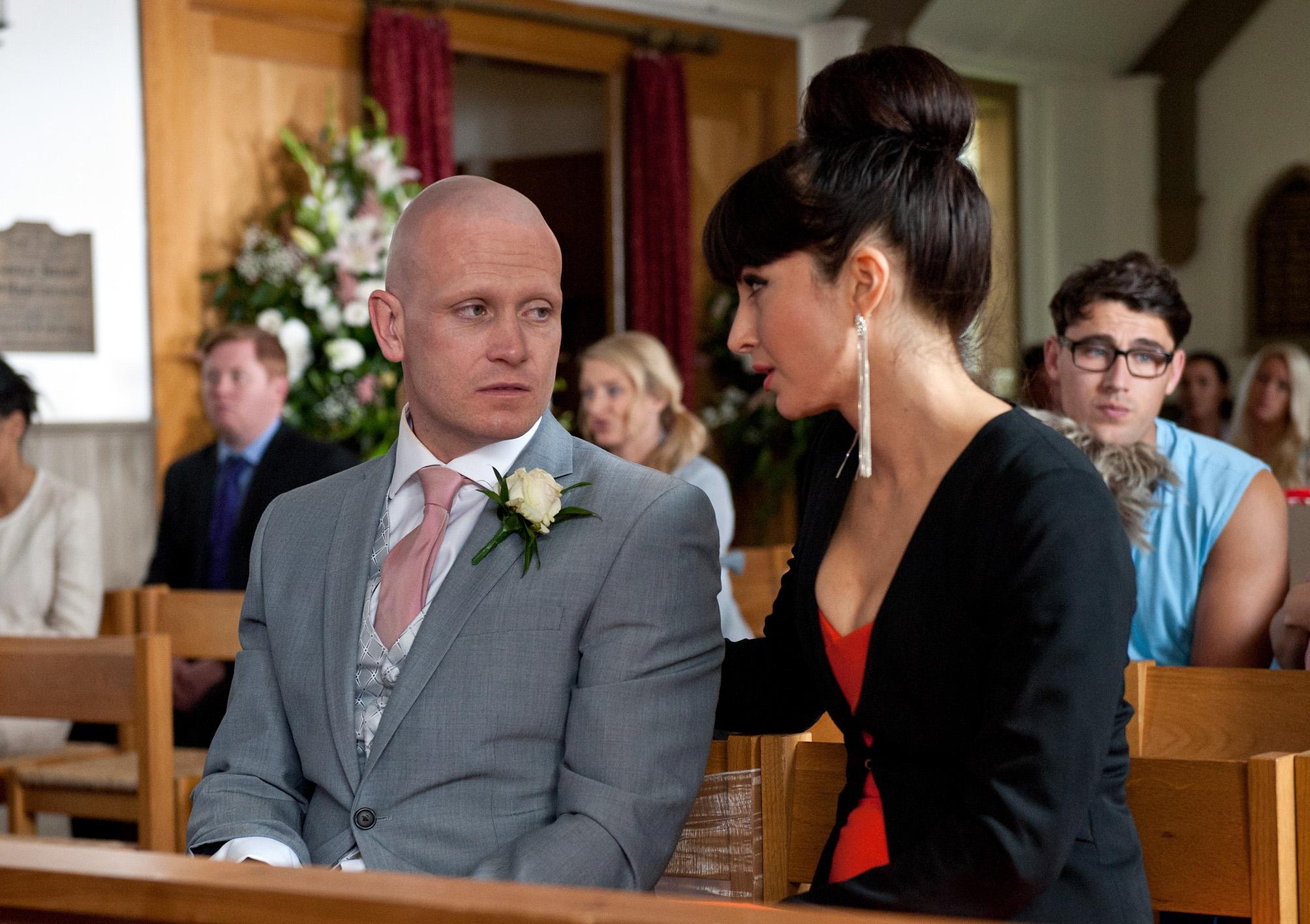 Emmerdale spoilers: Wedding day heartbreak for David Metcalfe