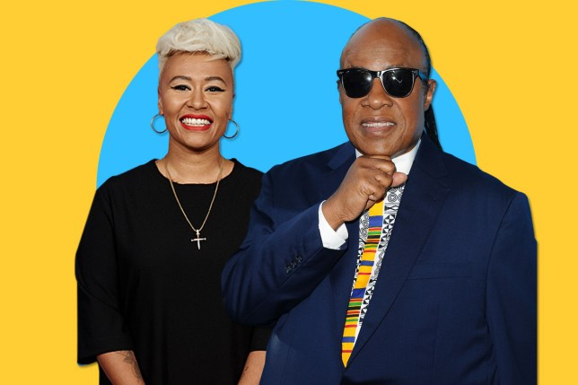 Emeli Sande made a track with Stevie Wonder (Picture: Getty)