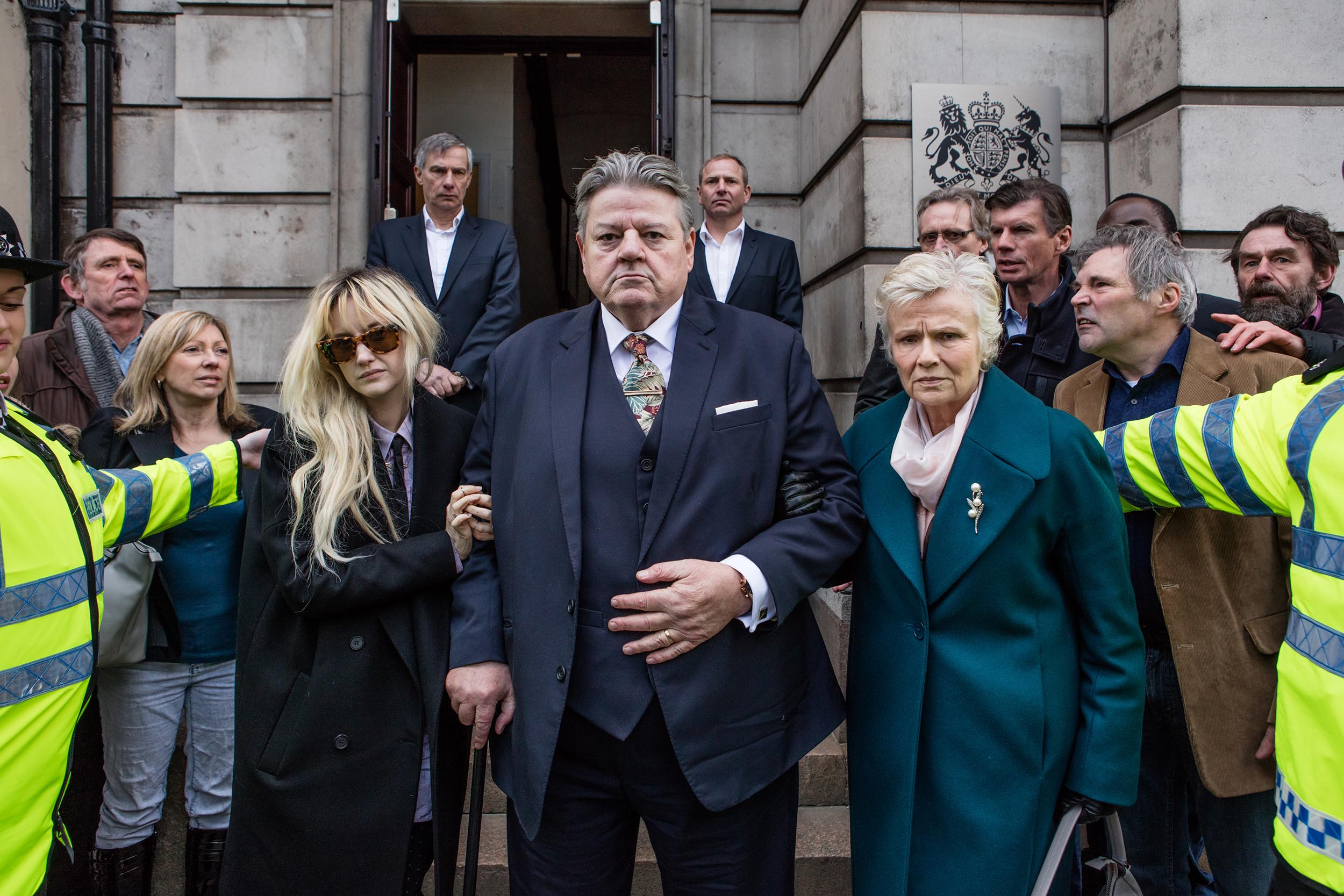 Robbie Coltrane and Julie Walters turn in 'Bafta-worthy' performances in new Channel 4 drama National Treasure