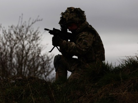 Transgender soldier becomes first woman in British army to serve on front line