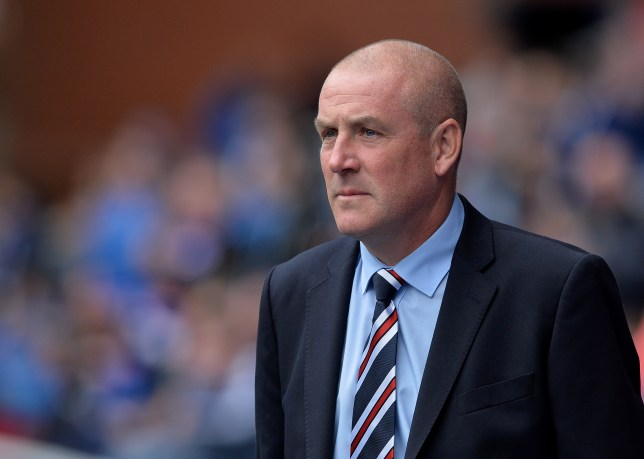 GLASGOW, SCOTLAND - JULY 30: Rangers manager Mark Warburton looks on during a pre-season friendly between Rangers FC and Burnley FC at Ibrox Stadium on July 30, 2016 in Glasgow, Scotland. (Photo by Mark Runnacles/Getty Images)