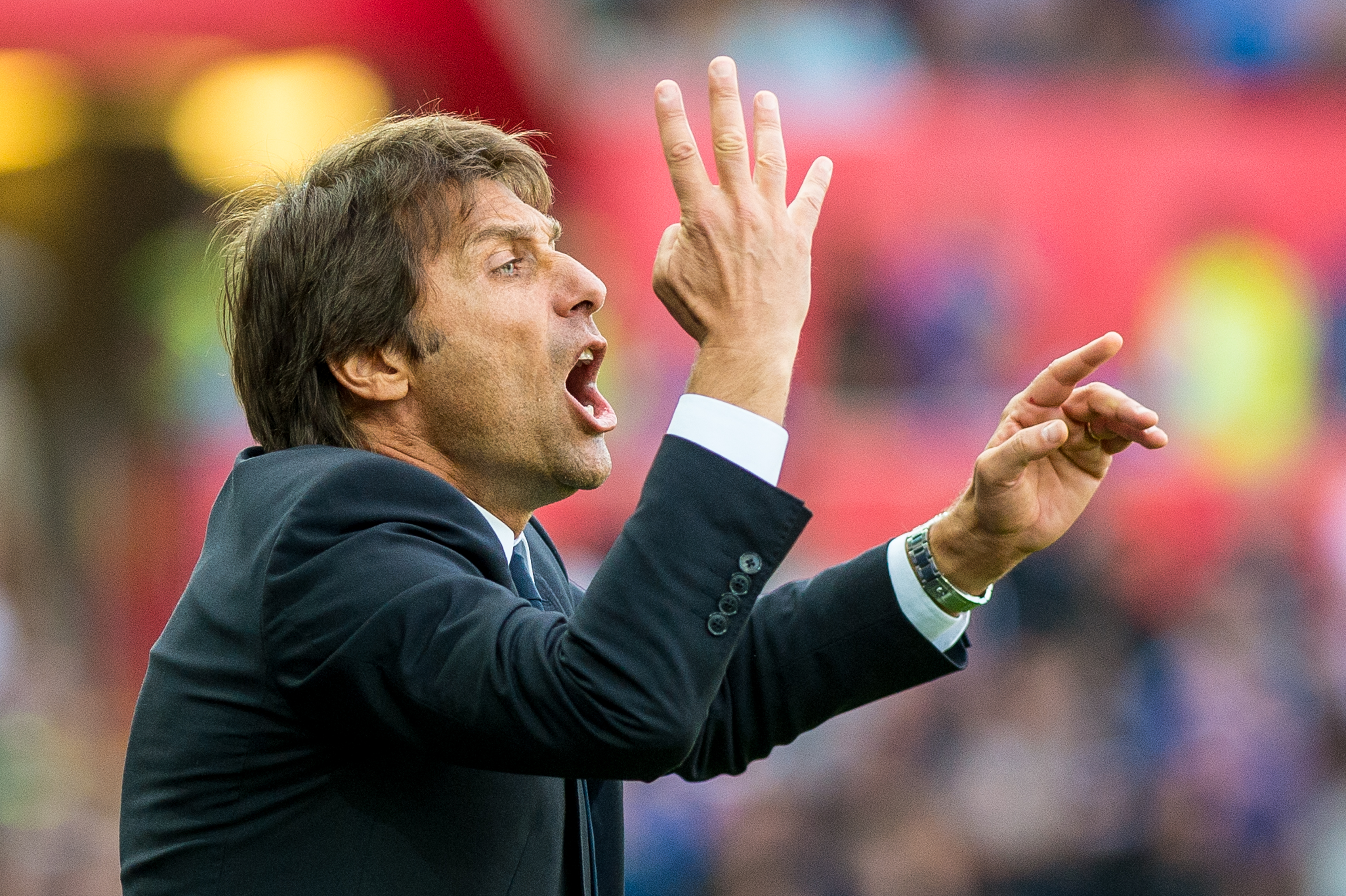 Antonio Conte admits he has held discussions with Chelsea owner Roman Abramovich